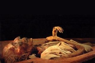 Ilustrasi - Mumi salah seorang Fir'aun Mesir. (inet)