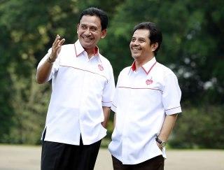 Pasangan Calon Walikota - Wakil Walikota Bogor, Achmad Ru'yat - Aim Halim nomor urut 3. (ist)