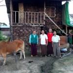 Koordinasi dgn MItra di lokasi Pengungsi (3)