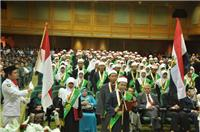 Wisuda di aula Fusthat, al-Azhar Conference Center (ACC), Nasr City, Cairo. pada Ahad, 21/10/2011 (foto:kemlu.go.id)