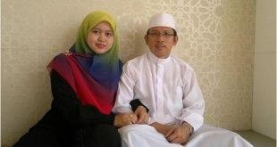 Dr. Fithriah Wardi bersama sang Suami Prof. Dr. Kamaluddin Nurdin. (Irhamni Rofiun)