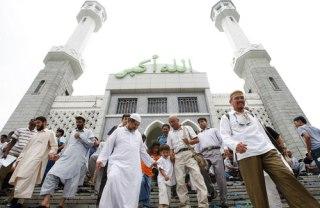Salah satu Masjid di Seoul, Korea Selatan (Foto:islam.ru)
