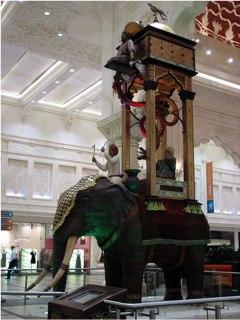 Jam gajah karya Al-Jazari (picasaweb.google.com/revswain)