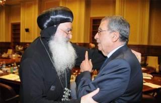 Amru Musa dan delegasi Kristen Koptik (islammemo)