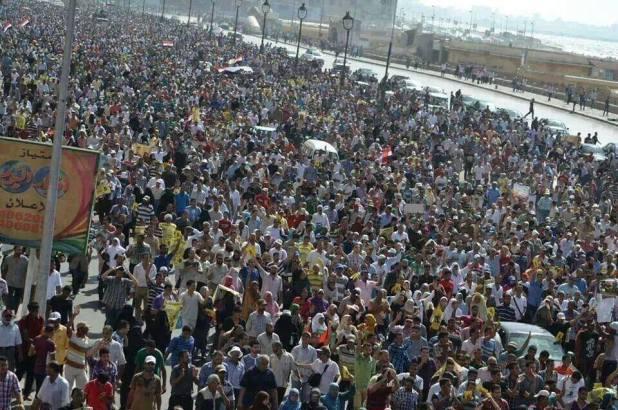 Demonstrasi 22 November di Alexandria (twsela)