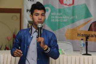 Hamzah Izzulhaq (21), pengusaha muda yang sukses
