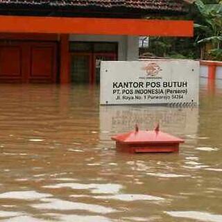 Salah satu wilayah banjir purworejo