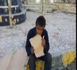 Karena embargo, anak Suriah ini makan karon sehari-harinya (islammemo)