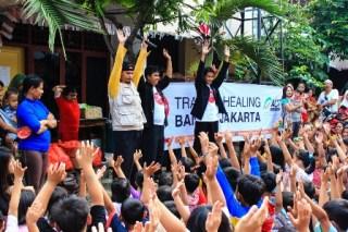 Gerakan Para Pendongeng Untuk Kemanusiaan (GePPuK) (foto: ACT)