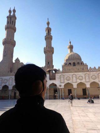Menara Islam Al-Azhar As-Syarif. (Foto: Irhamni Rofiun)