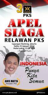 Apel Siaga Relawan PKS (foto: pks)