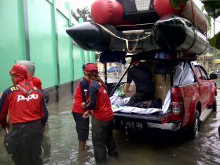 Tim Evakuasi PKPU (Foto: PKPU)
