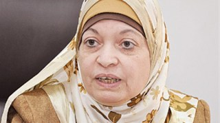 Mahjah Ghalib, dekan fakultas Studi Islam universitas Al-Azhar (albawabhnews.com)