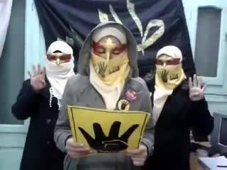 """Launching dan pernyataan sikap """"Mahasiswi Anti-Kudeta"""" (misrislamiyah)"""