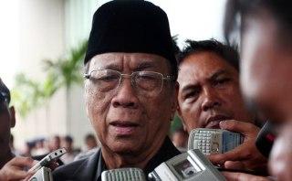 Ketua MUI, Amidhan - Foto: tribunnews.com