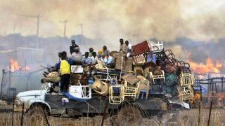 Warga Muslim Afrika Tengah berusaha meninggalkan kota Bangui (alukah)