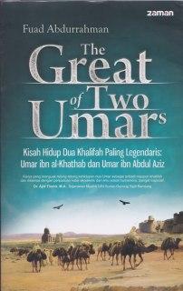 """Cover buku """"The Great of Two Umars; Kisah Hidup Paling Legendaris: Umar Ibn Khattab dan Umar"""""""