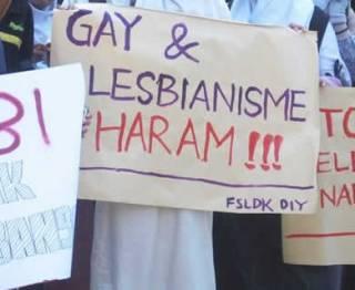 Aksi Penolakan Homoseksual - Ilustrasi