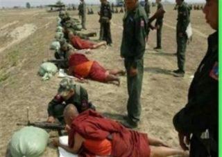 Militer Myanmar latih pendeta Budha (alukah.net)