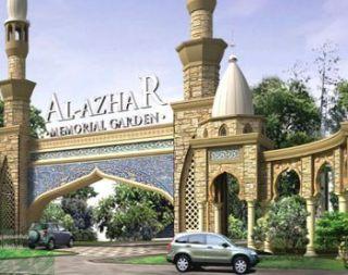 Yayasan Al Azhar meluncurkan pemakaman mewah khusus muslim di Kawasan Karawang Timur yang bernama Al Azhar memorial Garden. - Foto: detik.com