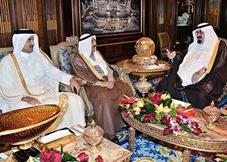Pertemuan pemimpin Saudi, Kuwait dan Qatar (alarab.co.uk)