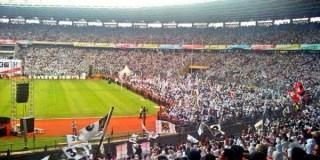 Ratusan Ribu Massa memadati Gelora Bung Karno saat kampanye Akbar PKS, Ahad (16/3/2014). (Foto: depoknews.com)