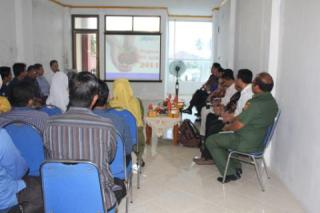 Kunjungan pejabat Kementerian Luar Negeri dan Kementerian Sosial ke PKPU Banda Aceh, Senin (17/3) - Foto: PKPU