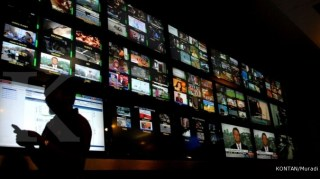 Tayangan Televisi (inet) - Foto: kontan.co.id