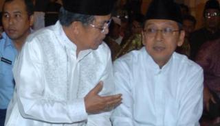 Jusuf Kalla dan Boediono - Foto: viva.co.id