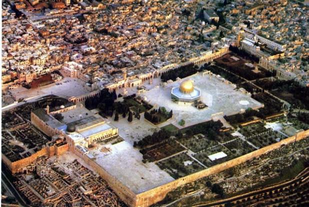 Ilustrasi - Kompleks Masjid Al-Aqsha, Al-Quds, Palestina. (Foto: inet)