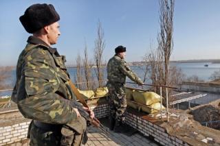 Pasukan Ukraina menjaga perbatasan lautnya (nydailynews.com)