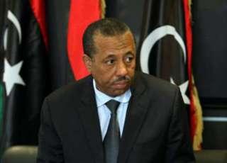 Perdana menteri Libya, Abdullah Ats-Tsinni (al-sharq.com)