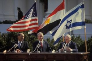 Perjanjian damai Mesir dan Israel yang dimediasi AS, 26 Maret 1979 (5tjt)