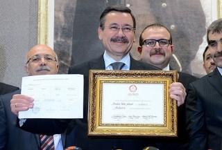 Walikota Ankara dari AK-Parti Ibrahim Melih Gökçek (aa.com.tr)