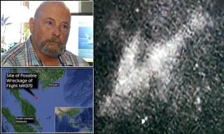 Michael Hoebel mengaku menemukan lokasi MH370 di sebelah timur laut pesisir Malaysia, barat Songkhla, Thailand - (Foto: dailymail.co.uk)