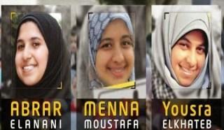 Ketiga mahasiswi Universitas Mansurah yang ditahan kudeta lebih dari 5 bulan (aljazeera)