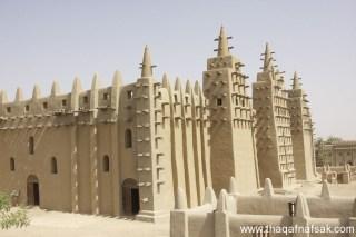 Mesjid Agung Djenne di Republik Mali (thaqafnafsak)
