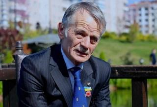 Mantan ketua Dewan Nasional Tatar Krimea, Musthafa Abdul Jalil Oglu (Anadolu)
