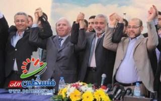 Rekonsiliasi nasional rakyat Palestina di Jalur Gaza (paltimes)