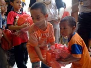 Anak-anak diajarkan untuk berbagi sejak usia dini (inet) - (Foto: antara.com)