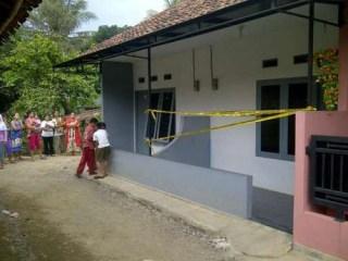 Rumah kediaman Cecep Solihin yang diduga mengajarkan aliran sesat di Cinta Asih RT 01/11, Kelurahan Samoja, Kecamatan Batununggal, Kota Bandung - Foto: bewara.co