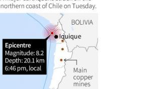 Gempa Chile - Reuters
