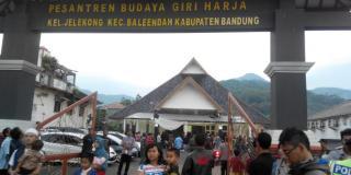 Pesantren Budaya 'Giri Harja' di kampung Giri Harja, Kelurahan Jelekong, Kecamatan Baleendah, Kabupaten Bandung, Jawa Barat - kompas.com