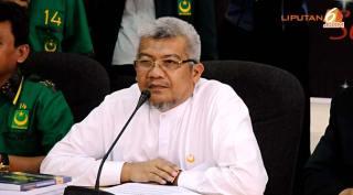 Dukungan PBB kepada pasangan Prabowo-Hatta disampaikan oleh Ketua Umum (Ketum) PBB MS Kaban - (liputan6.com