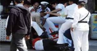 Perlakuan tidak manusiawi polisi Mesir terhadap warga sipil (shorouknews)