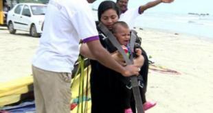 Niya Nazam, Bayi berusia 11 bulan yang diterbangkan dengan paralayang sendirian - (liputan6.com)