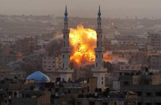 Jalur Gaza (ilustrasi).  (deseretnews.com)