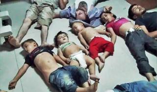Korban penggunaan senjata kimia rezim Asad (Aljazeera)