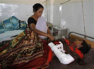 Salah satu korban pembantaian di Assam, India (reutersmedia.net)