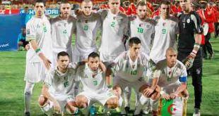Timnas Aljazair, salah satu peserta Piala Dunia 2014 di Brasil. (reuters)